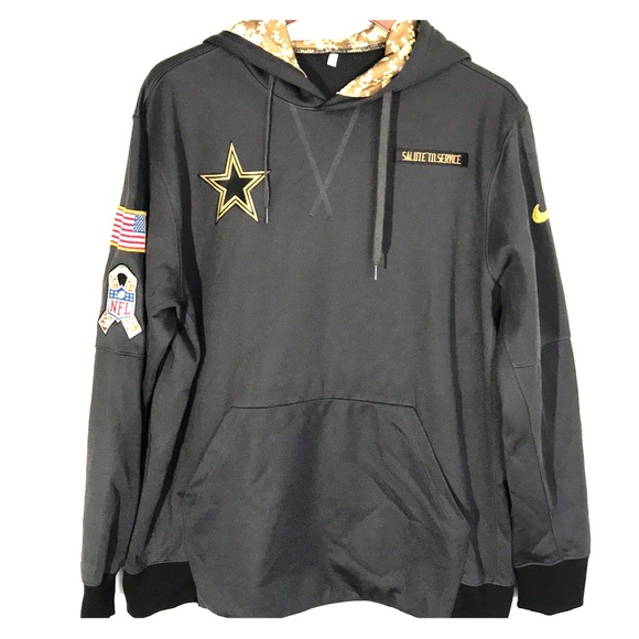 new concept 9ef58 ee328 Dallas Cowboys NWOT Salute To Service Hoodie 2016